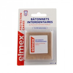 Elmex 3x38 bâtonnets interdentaires