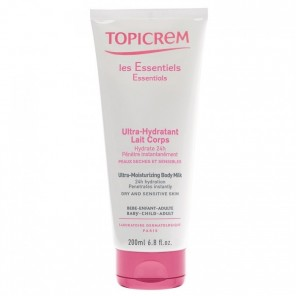 Topicrem lait corps ultra-hydratant 200ml