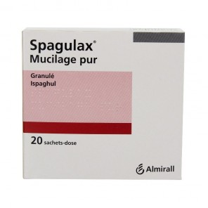 Spagulax Mucilage Pur Granulés 20 Sachets-Doses