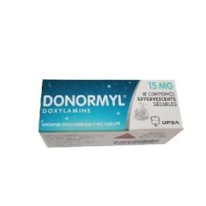 Donormyl 15 mg Effervescent 10 comprimés