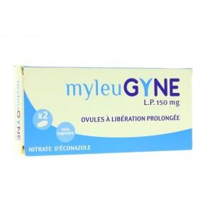 MYLEUGYN LP 150mg ovule à libération prolongée 2 ovules