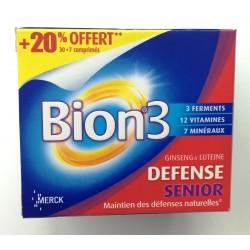 Merck Bion 3 séniors promo 30 comprimés + 7 offerts