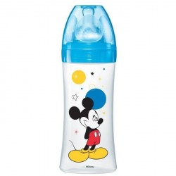 Dodie Biberon Initiation 330Ml Mickey Bleu Plus de 6 Mois