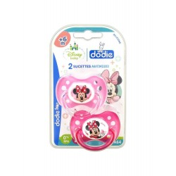 Dodie Disney Baby 2 Sucettes Anatomiques Silicone 6 Mois et +