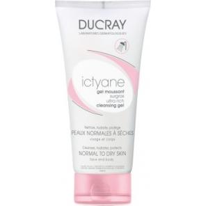 Ducray Ictyane Gel Moussant Surgras 200 ml