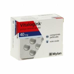 Mylan Vitalogink 40 mg 90 comprimés