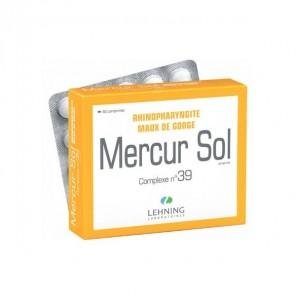 Lehning mercur sol complexe N°39 60 comprimés
