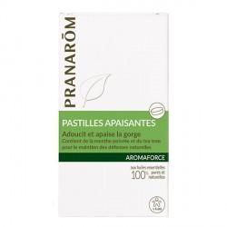 Pranarôm aromaforce pastilles pour la gorge x 21