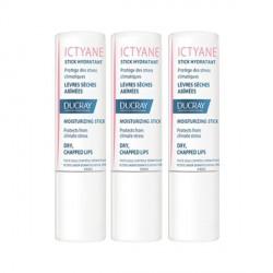 Ducray ictyane stick lèvres 3g x3
