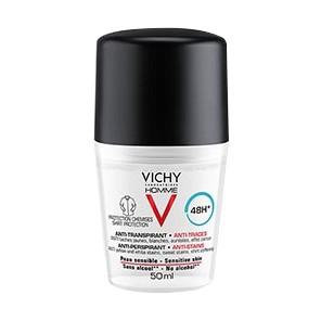 Vichy Déodorant 48H anti transpirant anti-traces 50ml
