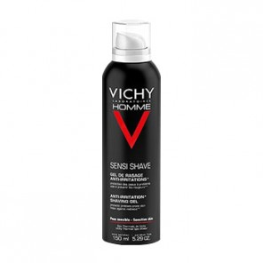 Vichy Homme Gel De Rasage - Anti-Irritations mousse à raser 150ml