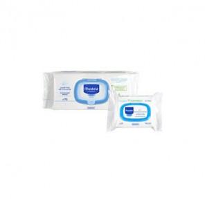 Mustela Lingettes nettoyantes paquet de 70 lingettes