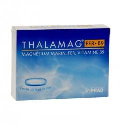 Thalamag fer B9 magnésium marin 30 gélules
