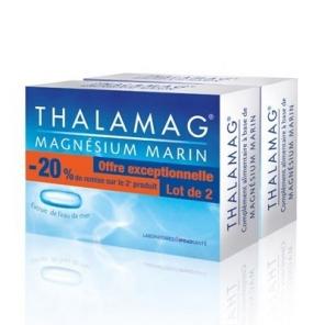 Thalamag magnésium marin duo 2x30 gélules