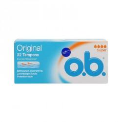 O.B Pro Comfort super 32 tampons